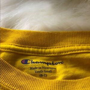 Champion Other - Yellow champion shirt !!
